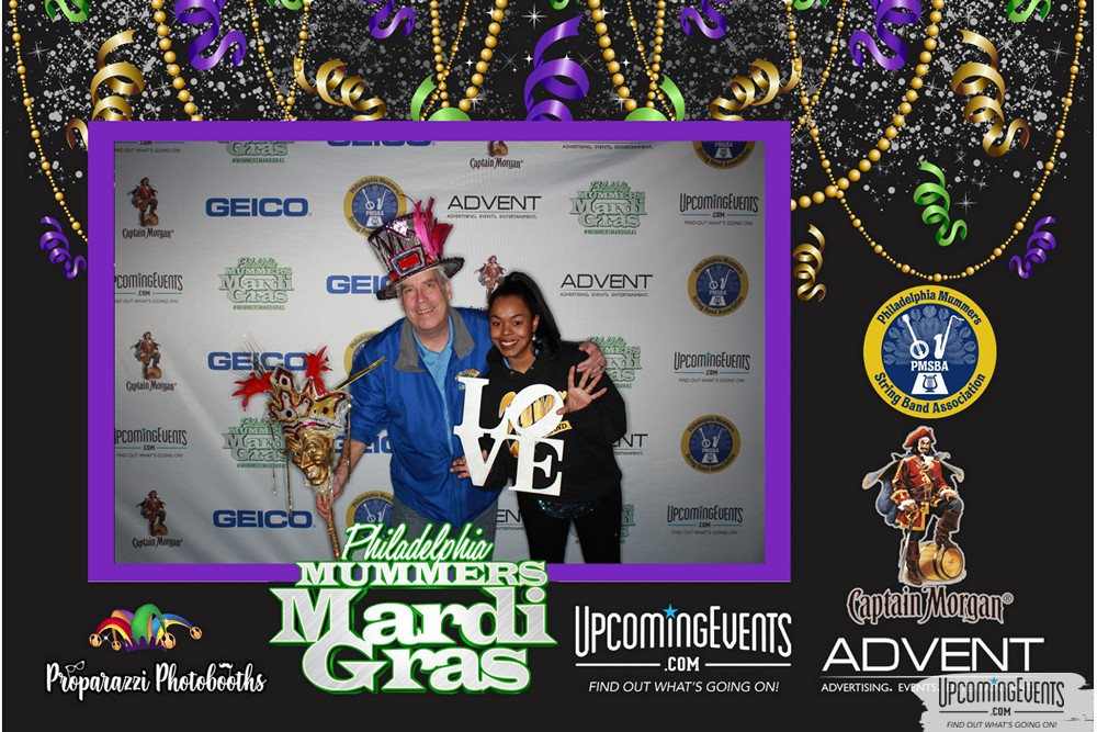 View photos for Mummers Mardi Gras Festival (Photo Booth)