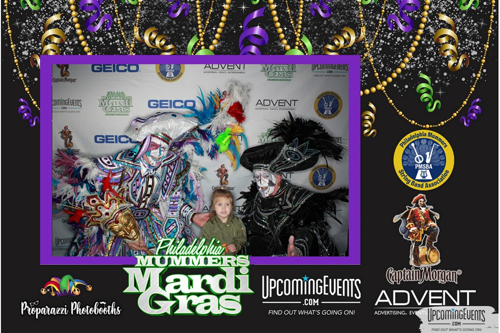 Photo from Mummers Mardi Gras Festival (Photo Booth)