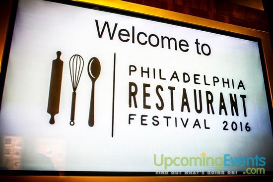 Photo from Philadelphia Restaurant Festival 2016