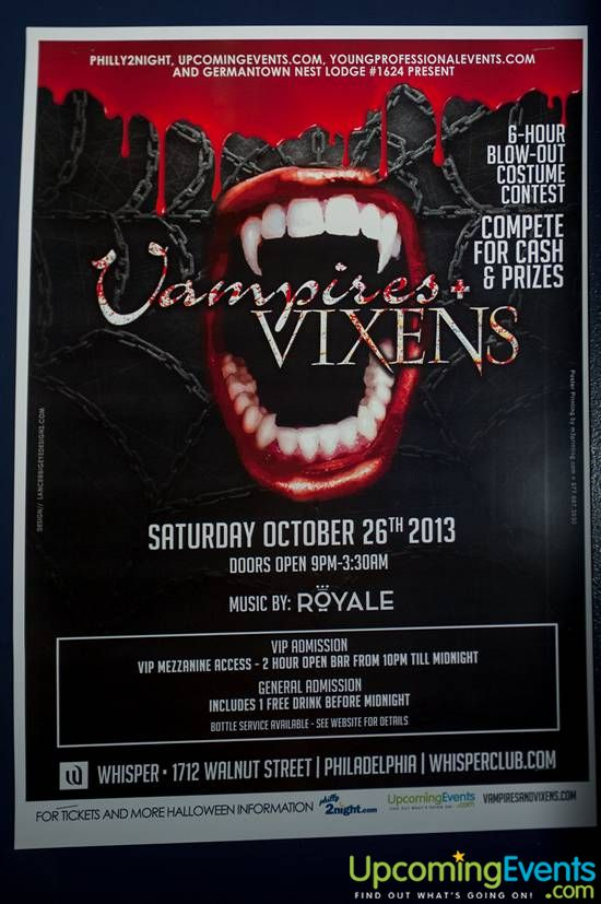 Photo from Vampires + Vixens 2013