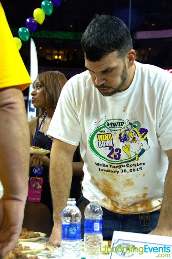 Photo from Wing Bowl 2015